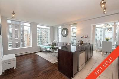 Yaletown Condo for sale at The Bentley: 1507-1001 Homer Street | 1 Bedroom + Solarium + Den/Flex Storage