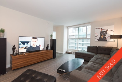 1 Bedroom Condo For Sale in Yaletown Pacific Point - 507-1323 Homer Street