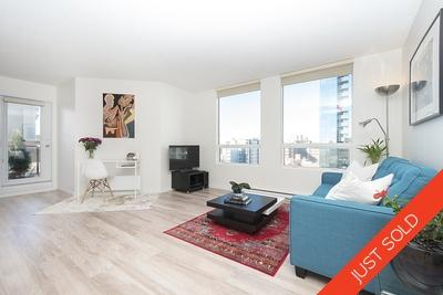 Downtown VW Condo for sale: 2 bedroom + 2 bath 872 sqft at 1902-811 Helmcken - Imperial Tower