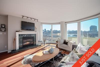 Yaletown Condo for sale 5C 199 Drake at Concordia 1: Large, 1,164 sqft 2 bedroom, 2 bath + den + storage
